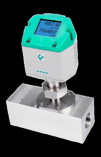VA 521 - Kompakt inline strømningsmåler for trykkluft og andre gasstyper