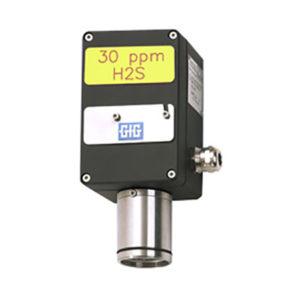 Stasjonær gastransmitter for giftige gasser