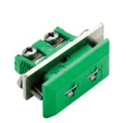 Mini termoelementkontakt type K hun for panelmontering