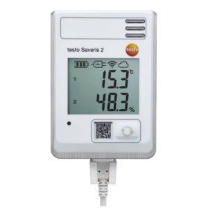 WiFi-Datalogger med integrert temperaturføler og fuktføler - Testo Saveris 2-H1