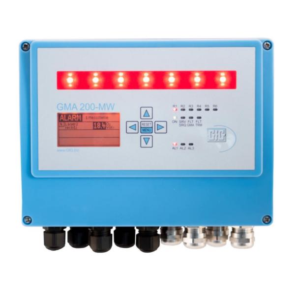 Gass kontrollsystem - GfG GMA200-MW4