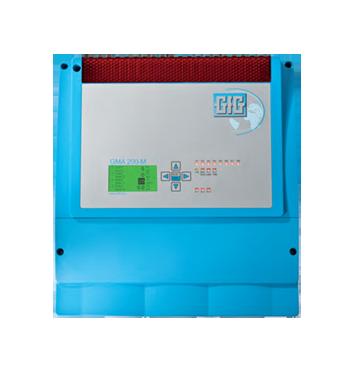 Kompakt kontroll system for veggmontering – GfG GMA200-MW