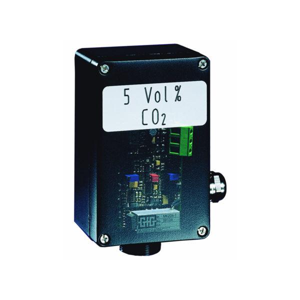 Stasjonær IR gasstransmitter for CO2 eller metan - GfG IR24