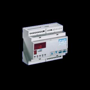 Stasjonært  gasskontrollsystem med DIN-skinnemontering - GfG GMA40