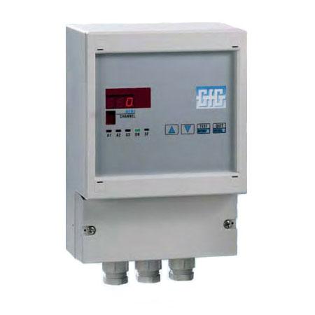Gass kontrollsystem for 1 målepunkt/transmitter - GfG GMA81
