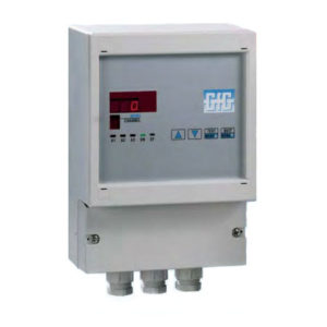 Gass kontrollsystem for 8 målepunkter/transmittere - GfG GMA88