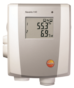 Saveris H4E  Temperatur/fuktighetslogger for Ethernet