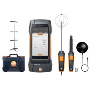 testo 400 Inneklimasett med stativ for måling av termisk komfort (PMV/PPD)