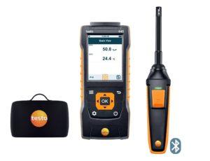 testo 440 fuktighetssett med Bluetooth®