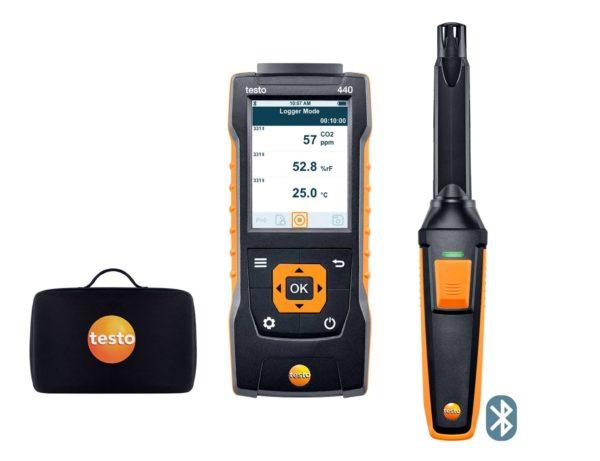 testo 440 CO2 sett med Bluetooth®