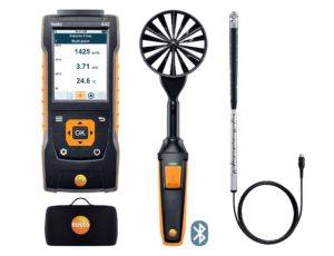 testo 440 Luftmengde kombisett 2 med Bluetooth®
