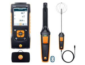 testo 440 inneklima kombisett med Bluetooth®