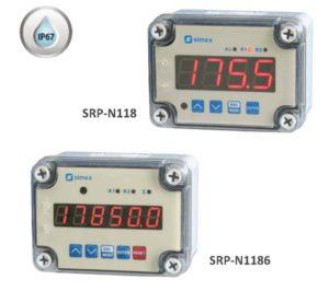 Prosessinsdikatorer i IP67 kapsling for veggmontering