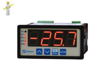 Temperaturdisplay