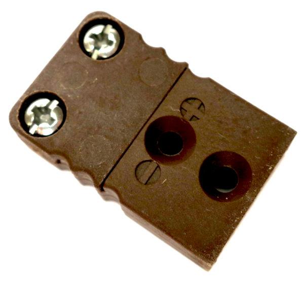 Mini termoelementkontakt type T hun