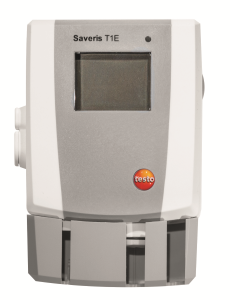 Saveris T1E tmperatur Ethernetlogger med intern føler og display
