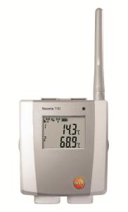 Saveris T3D radiologger for 2 eksterne termoeleneter og display