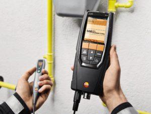 Testo 320 sett - røykgassanalyse for varmeingeniøren