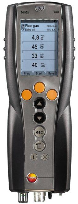 TESTO 340 GASSANALYSATOR M/O2 CELLE