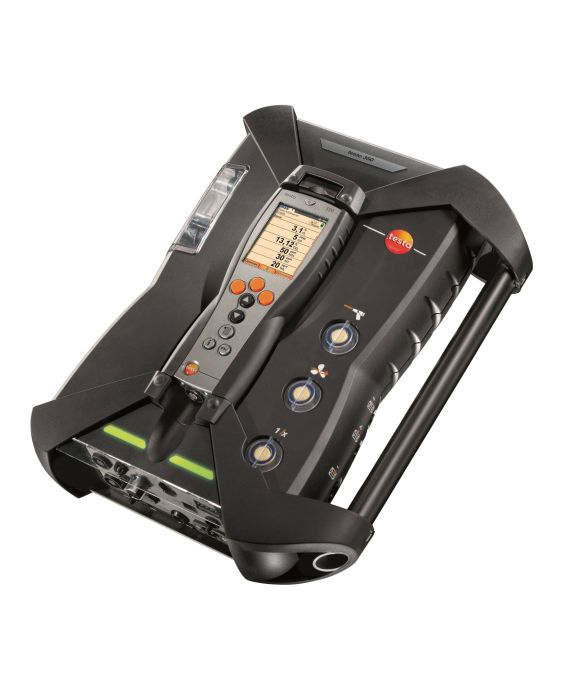 testo 350 Avansert bærbar gassanalysator. Kan utstyres med opp til 6 måleceller