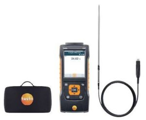 testo 440 laboratorie sett velegnet for agressive medier