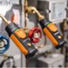 testo 549i trådløs trykkføler i bruk