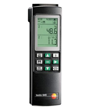 Nøyaktig fukt- og temperaturmåler - Testo 645