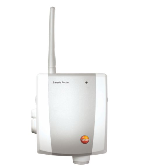 Saveris Router - Binder loggerne sammen