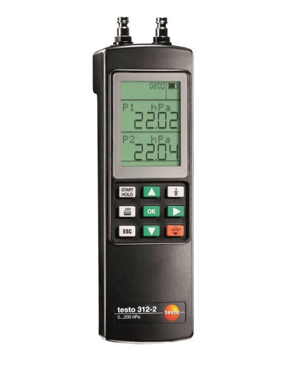 Manometer for gass/damp - Testo 312-2