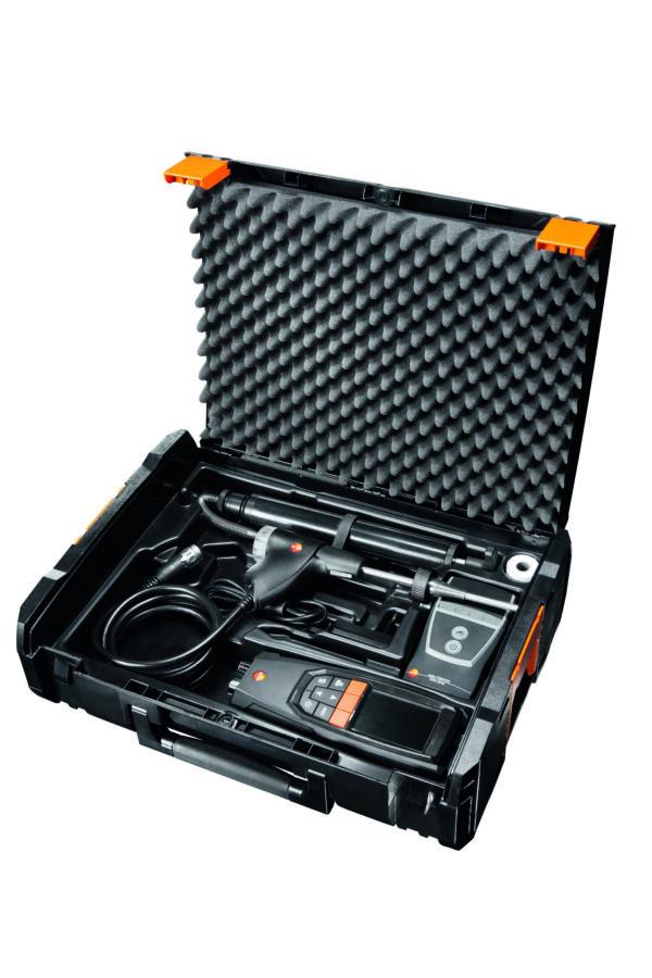 Analysatorkoffert for røykgass - Testo 320