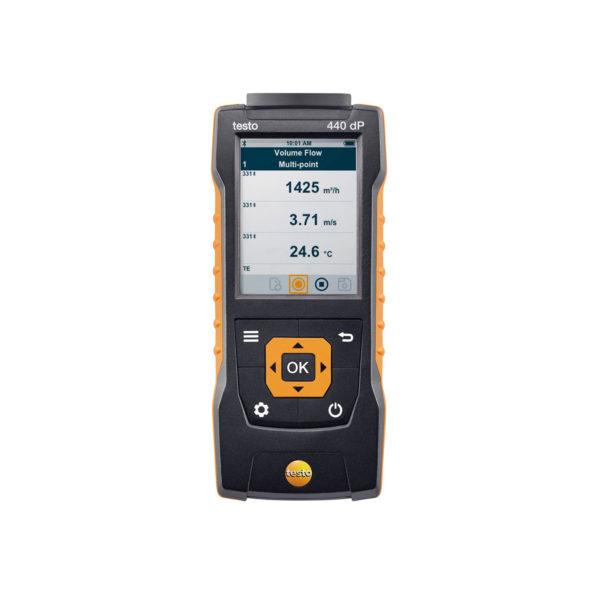 testo 440 dP Lufthastighet og inneklima - inkl diff trykk