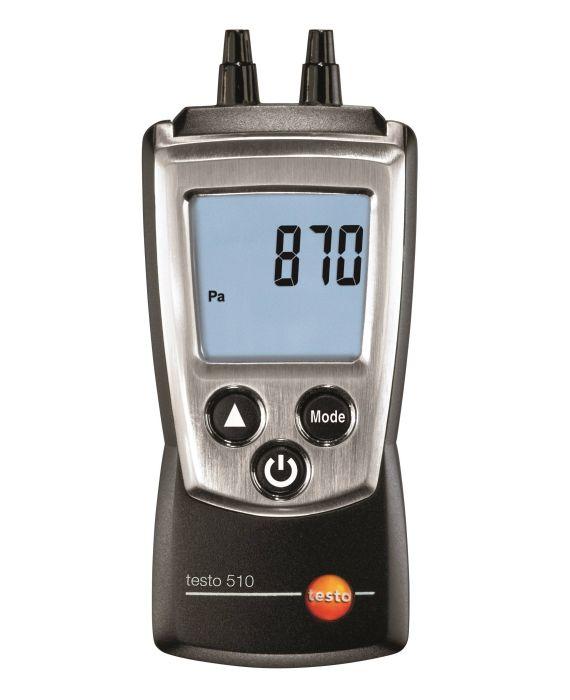 Differansetrykkmåler i lommeformat - Testo 510