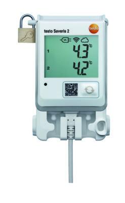 Testo Saveris 2-T2 WiFi Temperaturlogger for eksterne følere