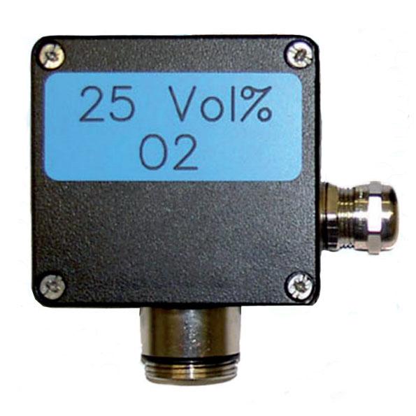 Stasjonær Gasstransmitter for Oksygen O2 - GfG ZD21